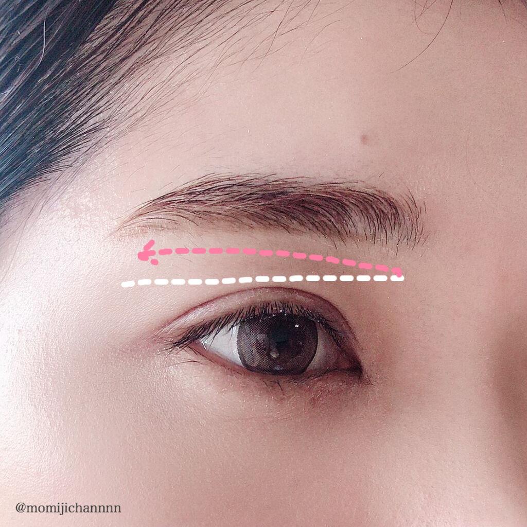 の 書き方 眉毛