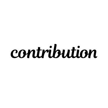 contribution公式アカウント
