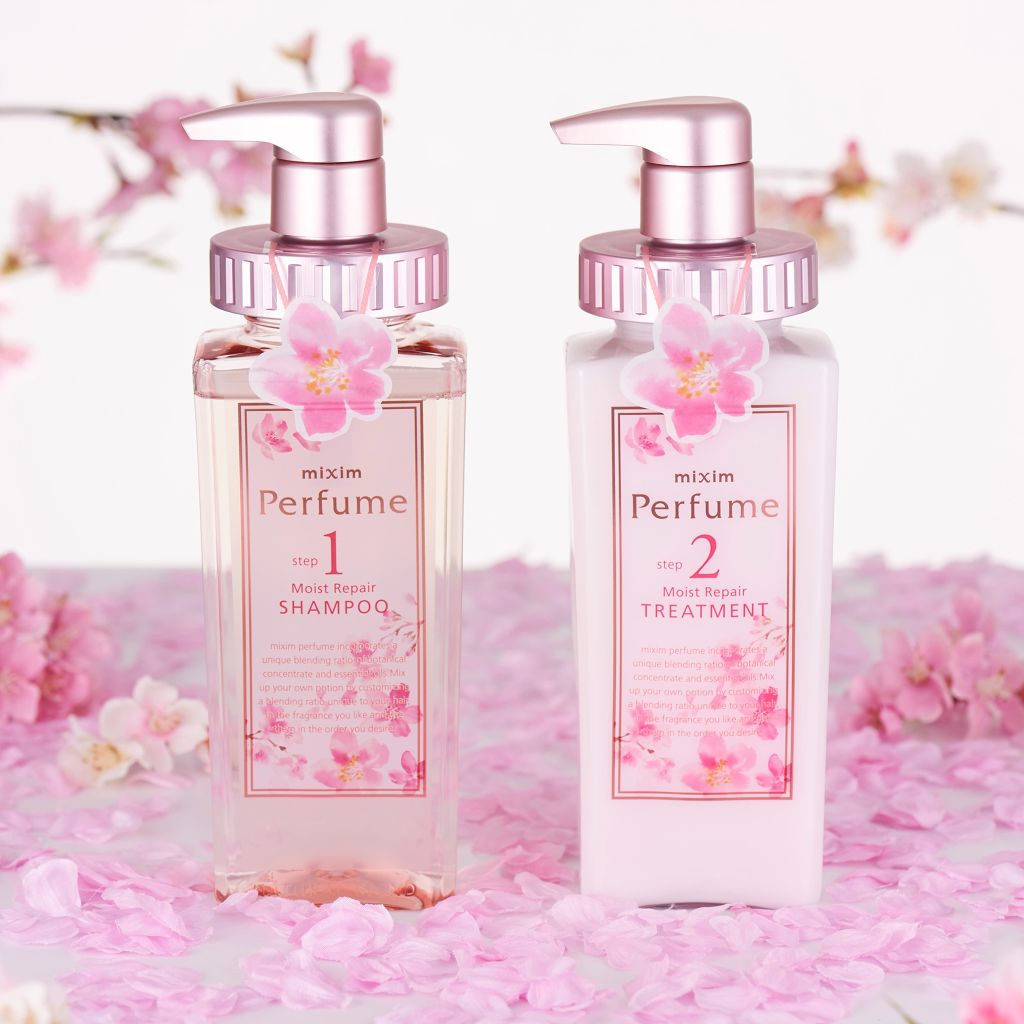 "「mixim Perfume」より、待望の期間限定の""桜フレーバー""セットが新登場✨(1枚目)"