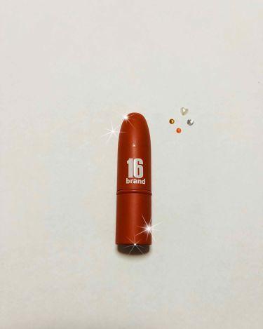 RU16 TASTE-CHU EDITION/16brand/口紅を使ったクチコミ(2枚目)