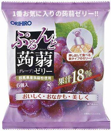 蒟蒻ゼリー/オリヒロ/食品を使ったクチコミ(1枚目)