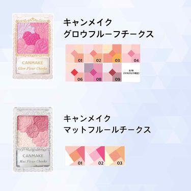 柳楽 詠子さんの「キャンメイクリップ&チーク ジェル<ジェル・クリームチーク>」を含むクチコミ