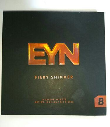 FIERY SIMMER/EYN/パウダーアイシャドウを使ったクチコミ(2枚目)