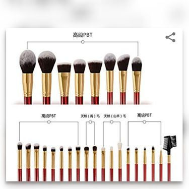 DUcare 27 Pieces Makeup Brush Set/その他/メイクブラシを使ったクチコミ(3枚目)