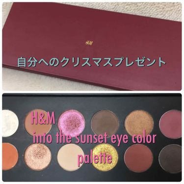 into the sunset eye color palette /NYX Professional Makeup/パウダーアイシャドウを使ったクチコミ(1枚目)