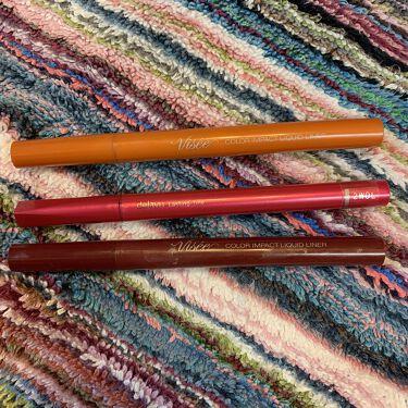 密着アイライナー ラスティンファイン 筆ペンリキッド/デジャヴュ/リキッドアイライナーを使ったクチコミ(6枚目)