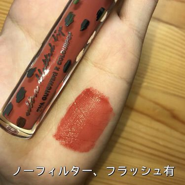 Ultra Blotted Lip/ColourPop/口紅を使ったクチコミ(2枚目)