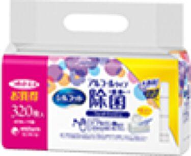 除菌ウェットティッシュ アルコールタイプ つめかえ用40枚×8パック:320枚