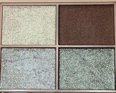 イロアソビ 4色アイパレット/iroasobi (イロアソビ)/パウダーアイシャドウを使ったクチコミ(2枚目)
