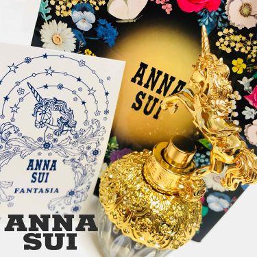 ファンタジア オードトワレスプレー/ANNA SUI/香水(レディース)を使ったクチコミ(1枚目)