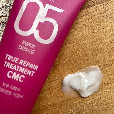TRUE REPAIR TREATMENT CMC/amos PROFESSIONAL/洗い流すヘアトリートメントを使ったクチコミ(4枚目)