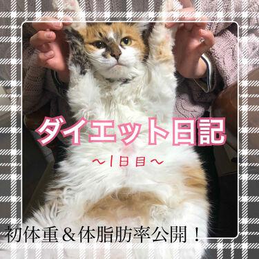 ゆりりす on LIPS 「ダイエット日記~1日目~(2020.04.05)今月はダイエッ..」(1枚目)