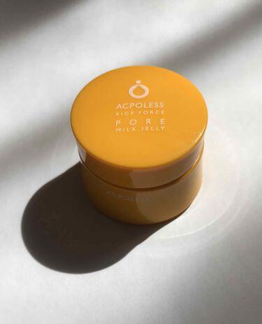 アクポレス ポアミルクジェリー/ライスフォース/美容液を使ったクチコミ(2枚目)