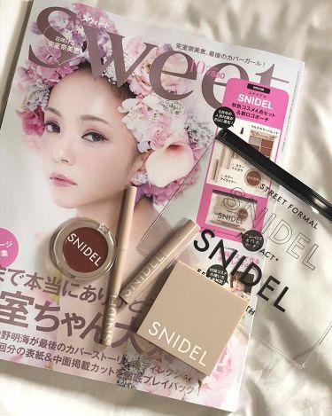 snidelのコスメセット/SWEET/雑誌を使ったクチコミ(1枚目)