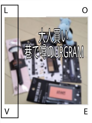 UR GLAM  チークブラッシュ/DAISO/パウダーチークを使ったクチコミ(1枚目)