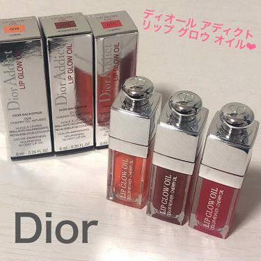 ディオール アディクト リップ グロウ オイル/Dior/リップグロスを使ったクチコミ(2枚目)