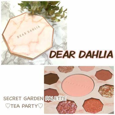 SECRET GARDEN PALETTE TEA PARTY DEAR DAHLIA