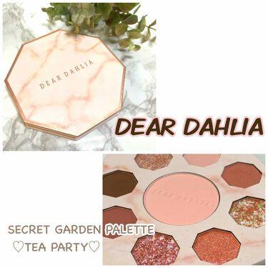 SECRET GARDEN PALETTE TEA PARTY/DEAR DAHLIA/パウダーアイシャドウを使ったクチコミ(1枚目)