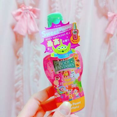 ボディスプレー スウィートピオニー/ボディファンタジー/香水(レディース)を使ったクチコミ(1枚目)
