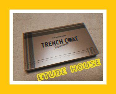 プレイカラーアイパレット トレンチコートショールーム/ETUDE HOUSE/パウダーアイシャドウを使ったクチコミ(1枚目)