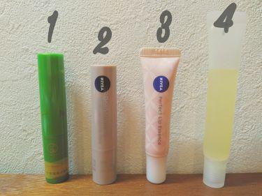 ナチュラルカラーリップ パーフェクトエッセンス/ニベア/リップケア・リップクリームを使ったクチコミ(1枚目)