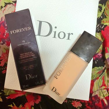 ディオールスキン フォーエヴァー フルイド マット/Dior/リキッドファンデーションを使ったクチコミ(3枚目)