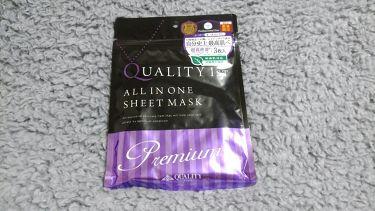 オールインワンシートマスク プレミアムEX 携帯用/クオリティファースト/シートマスク・パックを使ったクチコミ(1枚目)