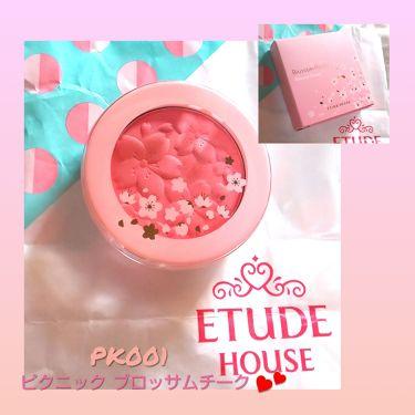 ピクニック ブロッサムチーク/ETUDE HOUSE/パウダーチークを使ったクチコミ(1枚目)