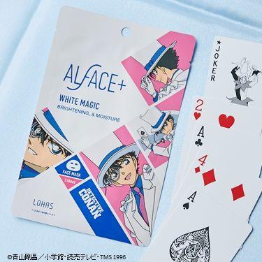 ALFACE+(オルフェス)公式アカウントさんの「ALFACE+(オルフェス)名探偵コナン×オルフェス ホワイトマジック(怪盗キッド)<パック・フェイスマスク>」を含むクチコミ