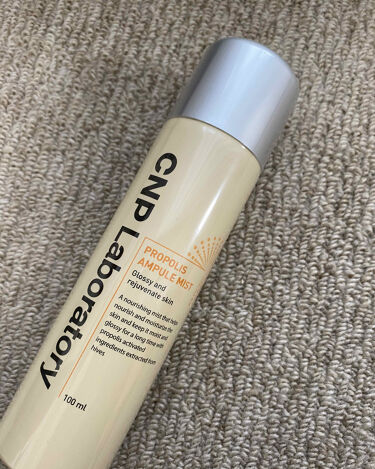 プロポリスアンプルミスト/CNP Laboratory/ミスト状化粧水を使ったクチコミ(1枚目)