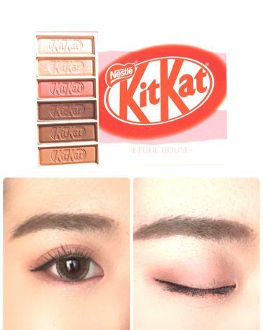 ETUDE HOUSE KitKatコラボアイシャドウ