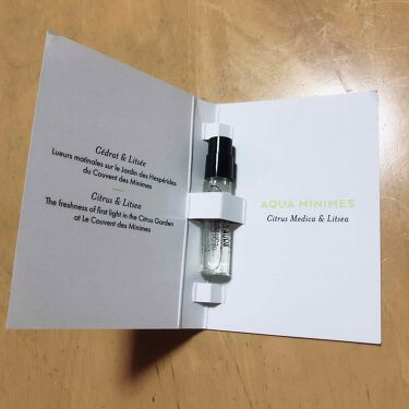 アクアミニム/クヴォン・デ・ミニム/香水(その他)を使ったクチコミ(2枚目)