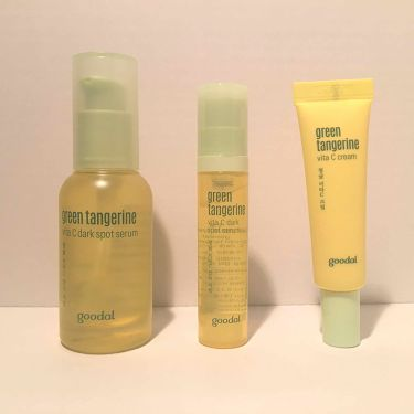 グーダル グリーンタンジェリンビタCダークスポットセラム/CLIO/美容液を使ったクチコミ(1枚目)