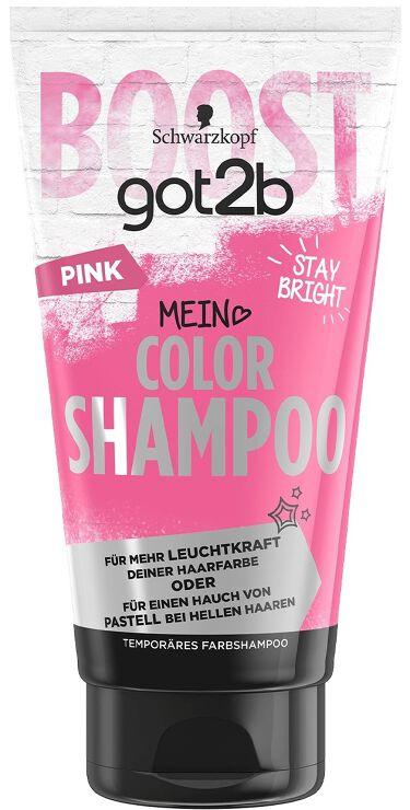 カラーシャンプー ピンク