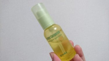グーダル グリーンタンジェリンビタCダークスポットセラム/CLIO/美容液を使ったクチコミ(2枚目)