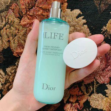 ライフ ソルベ ウォーター ミスト/Dior/ミスト状化粧水を使ったクチコミ(1枚目)
