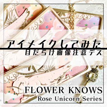 ユニコーンシリーズ アイシャドウパレット/FlowerKnows/パウダーアイシャドウを使ったクチコミ(5枚目)