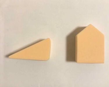 ジェリータッチスポンジ ウェッジ 12P/ロージーローザ/パフ・スポンジを使ったクチコミ(2枚目)