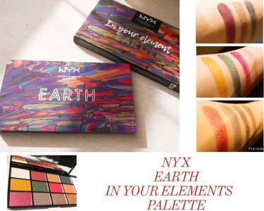 EARTH IN YOUR ELEMENTS PALETTE/NYX Professional Makeup/パウダーアイシャドウを使ったクチコミ(1枚目)
