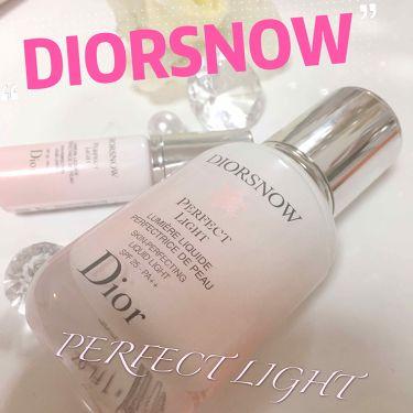 ディオール スノー スノー パーフェクト ライト spf 25 - pa++/Dior/化粧下地を使ったクチコミ(1枚目)