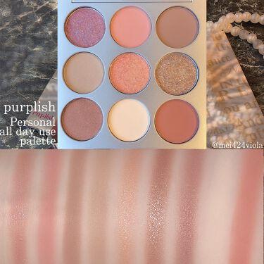 PERSONAL ALL DAY USE PALETTE/purplish/パウダーアイシャドウを使ったクチコミ(3枚目)