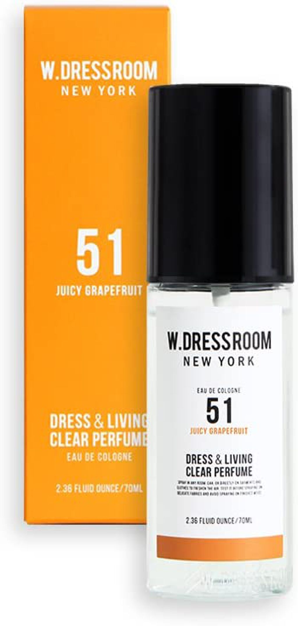 ドレス&リビング クリーン パフューム No.51 ジューシーグレープフルーツ