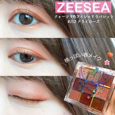 ZEESEA クォーツ 9色アイシャドウパレット/ZEESEA/パウダーアイシャドウを使ったクチコミ(1枚目)