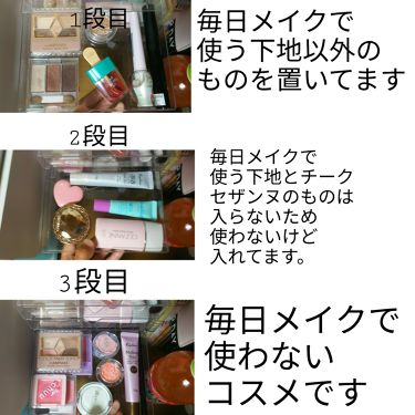 ダイソークリアケース/DAISO/その他を使ったクチコミ(4枚目)