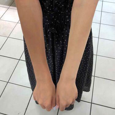 足の裏さんの「プラザワンデイブライトナープレミアム<日焼け止め(ボディ用)>」を含むクチコミ
