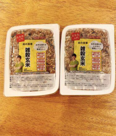 amaimama on LIPS 「雑穀玄米取り入れてみました🥰玄米は初めてで、雑穀米は大好きなの..」(1枚目)
