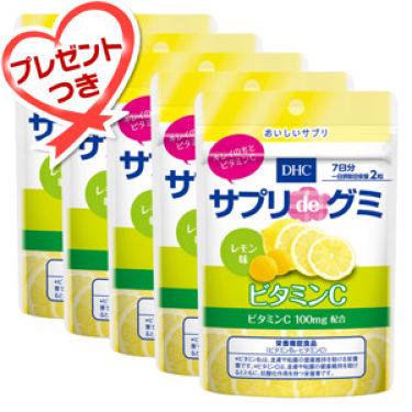 サプリdeグミ ビタミンC レモン味 DHC