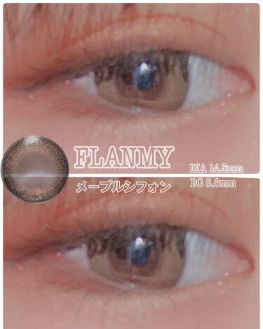 FLANMY 1day/FLANMY/カラーコンタクトレンズを使ったクチコミ(1枚目)