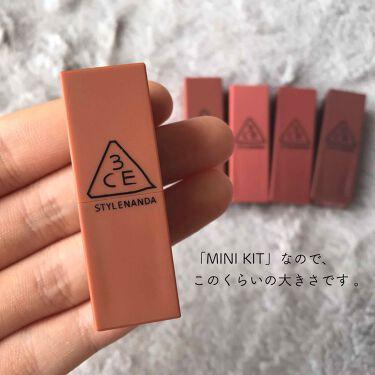 LIP COLOR/3CE/口紅を使ったクチコミ(2枚目)