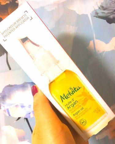 ビオオイル アルガンオイル ローズ/Melvita/ブースター・導入液を使ったクチコミ(3枚目)
